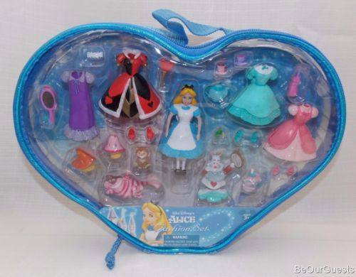 Disney-Parks-Alice-in-Wonderland-Fashion-Playset-Polly-Pocket-New