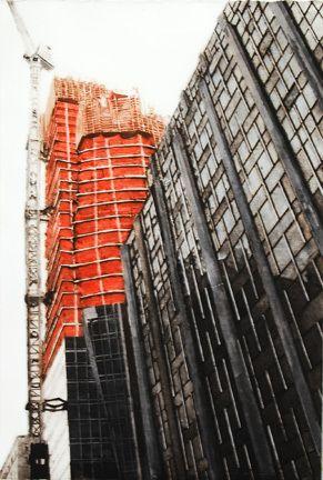 Manhattan Rising - Grace Bentley-Scheck prints