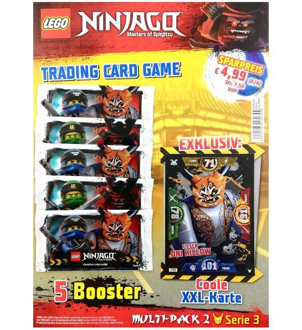 Lego Ninjago Serie 3 Multi Pack 2 Xxl Karte Fieser Oni Killow Lego Ninjago Ninjago Lego