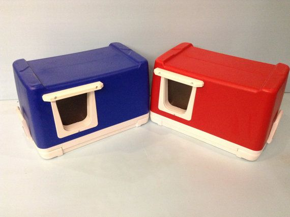 HEATED CAT POD,outdoor cat house,condo,shelter