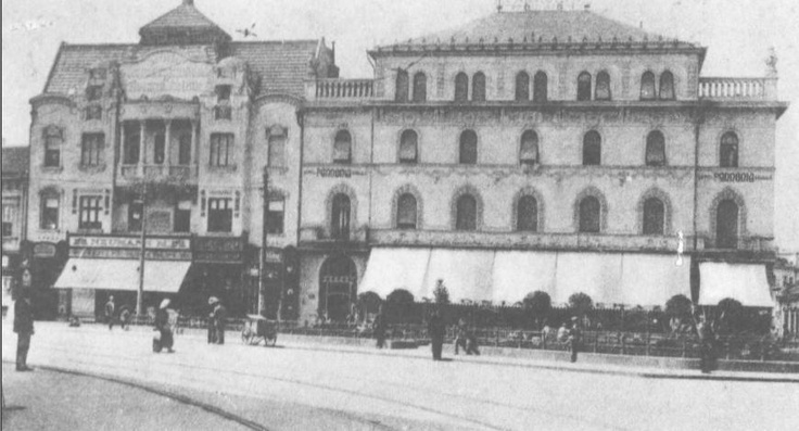 Oradea - Hotel Transilvania - interbelica
