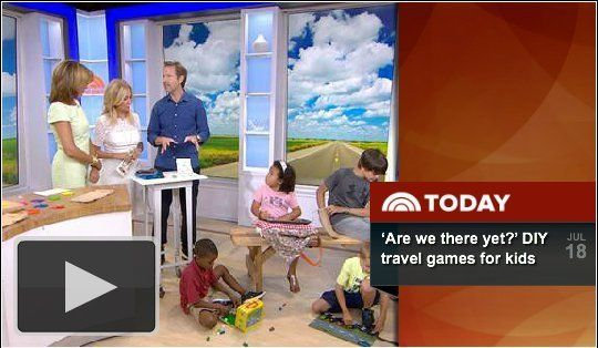 Best DIY Travel Games for Kids on The Today Show — Today Show Video