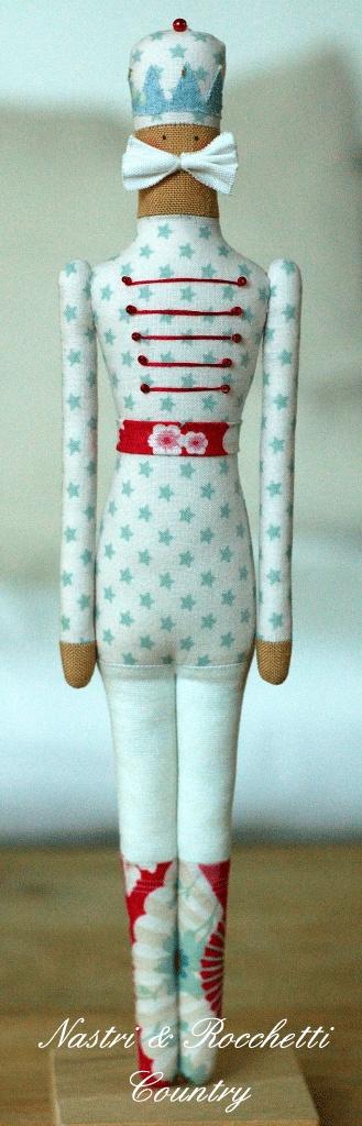 Nutcracker softie doll