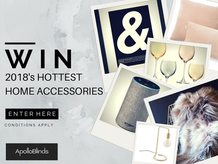 One lucky winner will be able to add all of these perfect finishing touches to their interior by winning Laurie's selection of the hottest home accessories for 2018