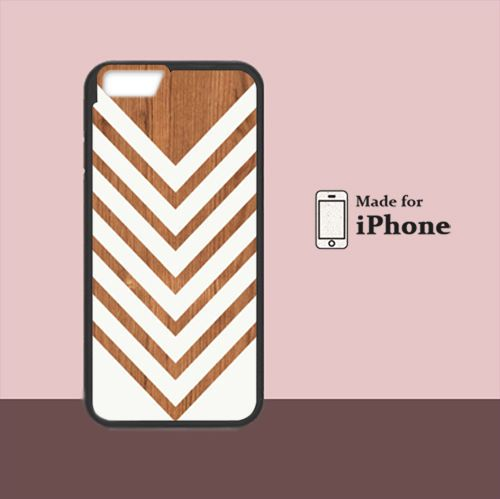 Wood print Chevron For iPhone 6 Hard Case #NN