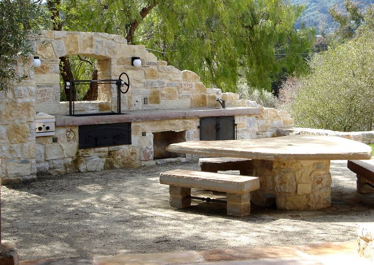 Rustic Outdoor Kitchen | Posts Related To Rustic Outdoor Kitchen Patio  Contemporary With Bar .