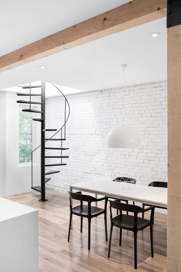 Old warehouse in montreal transformed into a dazzling contemporary - Espace Panet By Anne Sophie Goneau Design