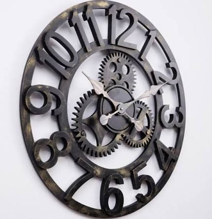 Wall Clock Decor best 25+ large vintage wall clocks ideas on pinterest | wall