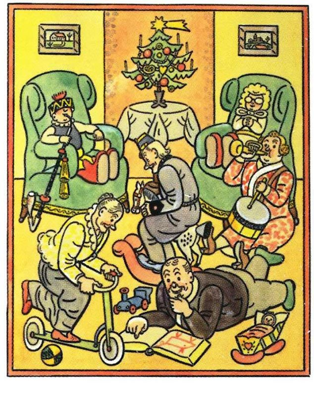 Oceňování dárků, 1939