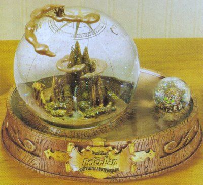 Disney Snowglobes Collectors Guide: Neverland Snowglobe