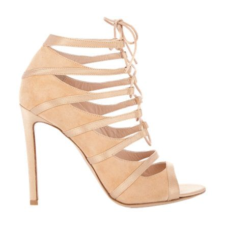 Gianvito Rossi Lace-Up Delphine Sandals at Barneys.com