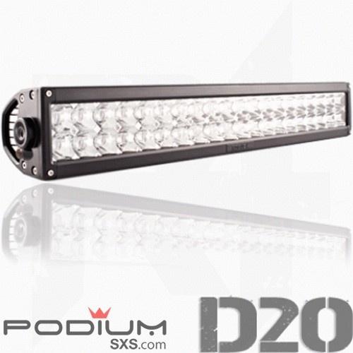 20 Inch Double Row LED Light Bar - Delta Series #Rogue4 #PodiumSxS.com #1SxS #Offroad #Lighting #LightBar #LED