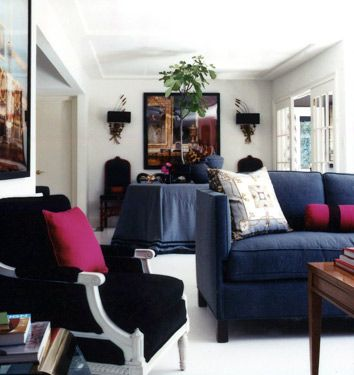 71 Best Navy Blue Sofa Images On Pinterest Navy Blue