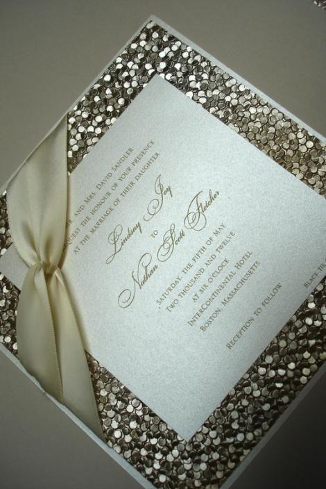 Wedding Invitation Embossed for beautiful invitation layout
