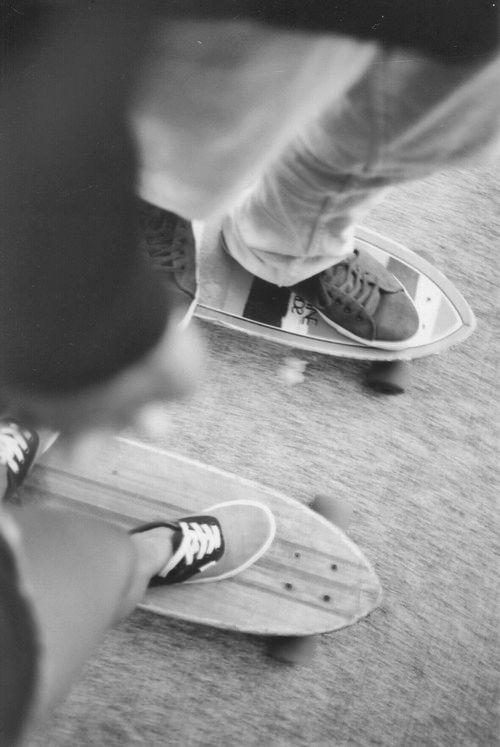 A couple that skates together, stays together