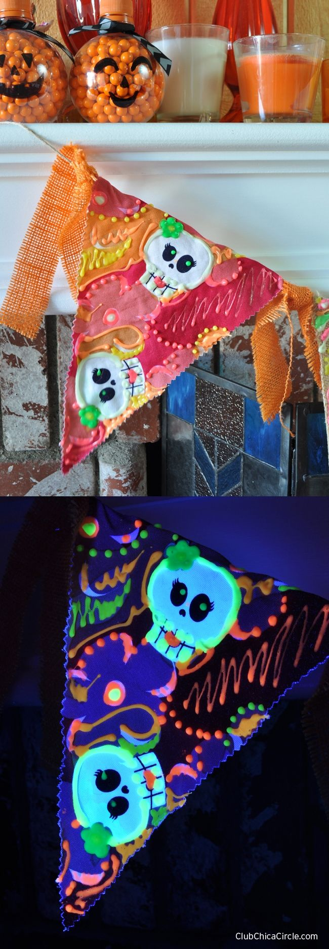 The Ultimate Glow-in-the-Dark DIY Roundup: 20+ DIY Project Ideas   Halloween crafts, Puffy paint diy