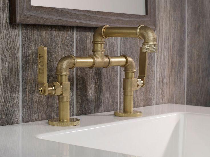 Artistic Bathroom Fixtures Create Wow Effect