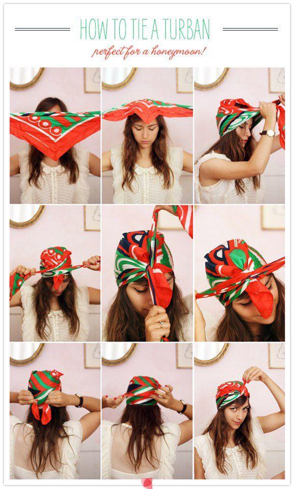 how to tie a turban i always wondered