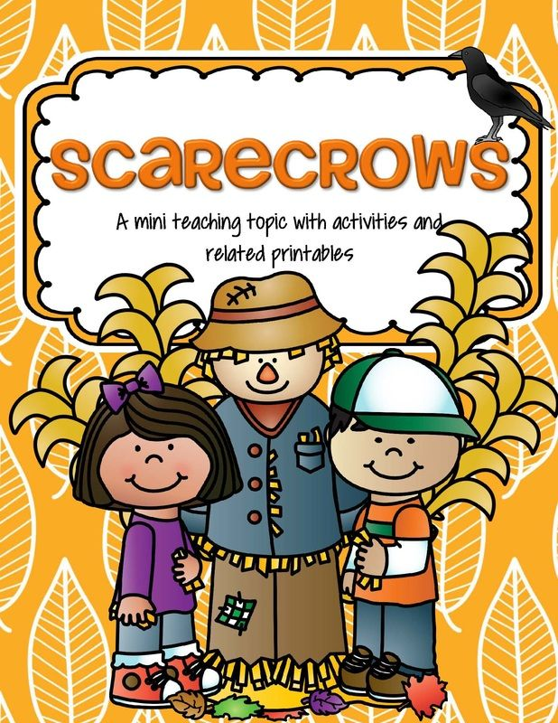 Scarecrows theme activities and printables for preschool - KidSparkz