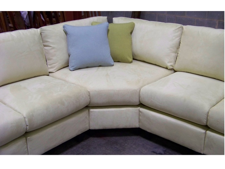 Sectional With Wedge Corner For Small Spaces Great For