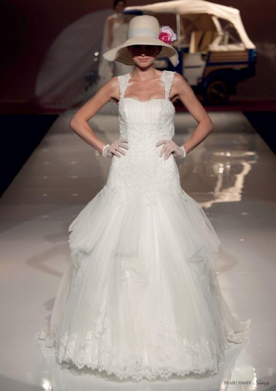 Collezione abiti da sposa #Nicole, abito da #sposa modello Nanvy