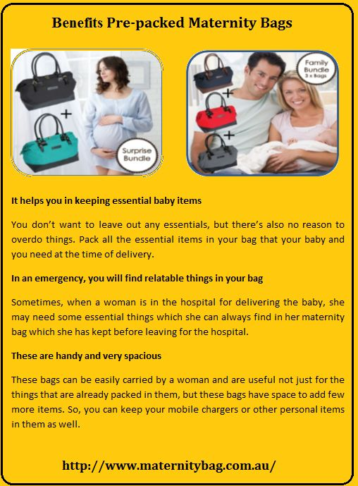 If you are expecting a child and soon becoming a parent then your preparation must be in full swing. While shopping, you must have shopped everything for a child but I want to put your attention towards a Maternity Bag that sometimes one forgets. Yes, these bags are quite essential and help in keeping various items.