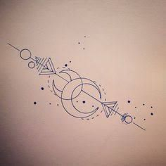 Image result for sagittarius constellation tattoo