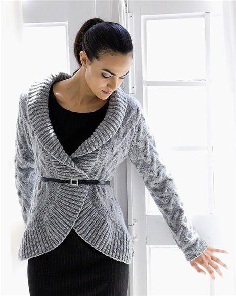 Strik selv: Smuk velsiddende trøje - Hendes Verden