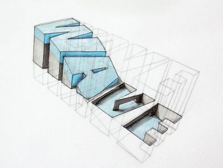 The awesome 3D typography by Lex Wilson (image)