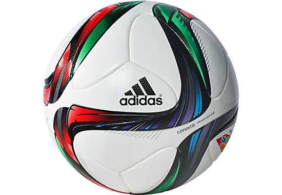 adidas Conext15 WWC Match Soccer Ball - White and Green
