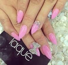 The 22 best stuff to try images on pinterest natural updo african pink stiletto bow nails nails bow diy pink nails nail art diy ideas do it yourself diy nails nail designs stiletto nails solutioingenieria Image collections