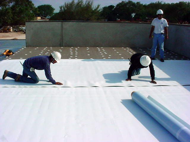 White Membrane Roofing Systems In Dalton Ga Commercial Roofing Roof Repair Flat Roof Replacement