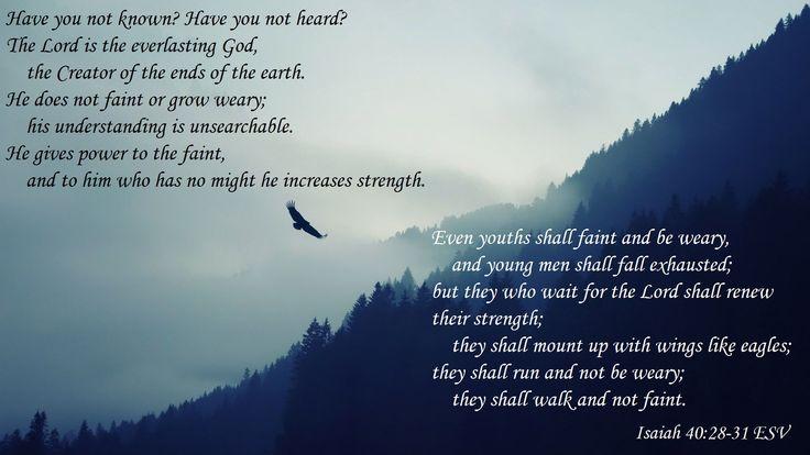 Isaiah 40:28-31