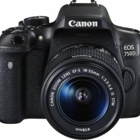 aparat-foto-dslr-canon-eos-750d-kit-18-55mm-f3-5-5-6-is-stm-black