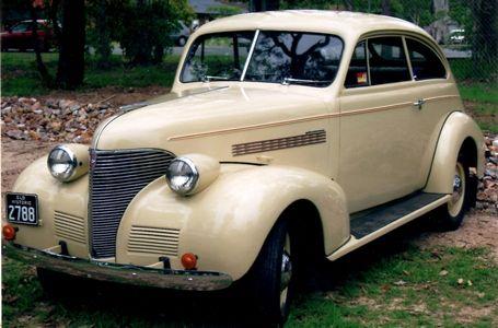 Restored 1939 Chev Holden body Coupe. Or Sloper.