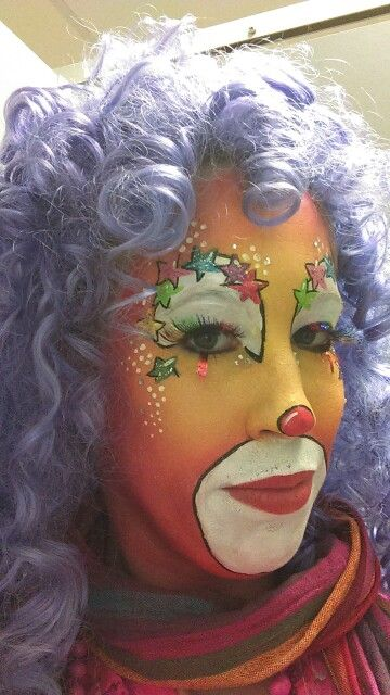 Facepaint clown