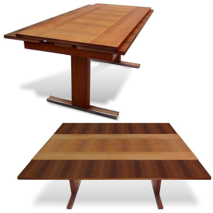 Eleganter Alter Tisch 60er Jahre Ausziehbarer Couchtisch Hhenverstellbar RETRO
