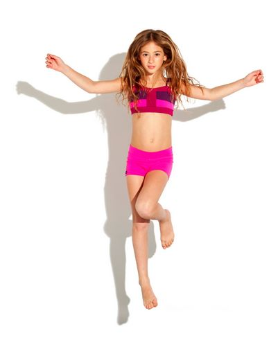 Jo + Jax giveaway. This color-block top and shorties for you or your little dancer.
