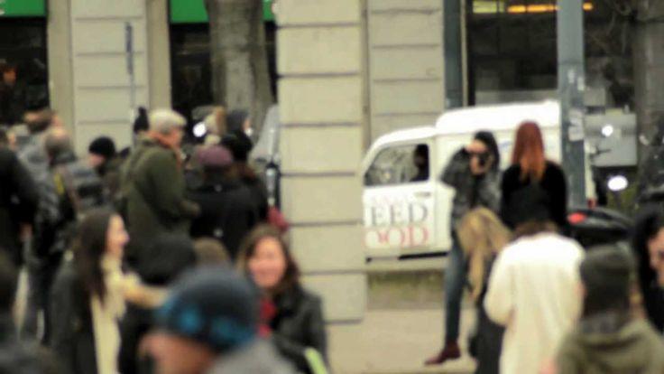 Terzo video del Bacchetteforchette Fashion Tour,  girato all'Arco della Pace in occasione della sfilata di Cavalli