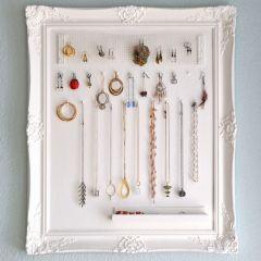Blog - DIY Jewellery Storage Frame | Magic Freebies UK