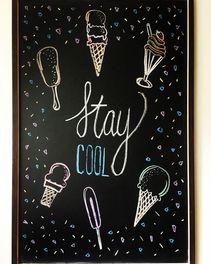 #summer #chalkboard #art #diy