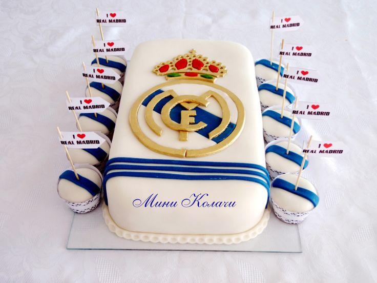 real madrid fan cake