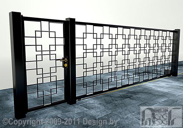Beautiful square gate design for the home pinterest for House design com