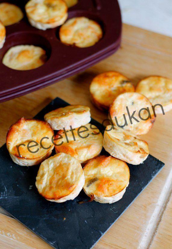 Dukan : petits flans au saumon