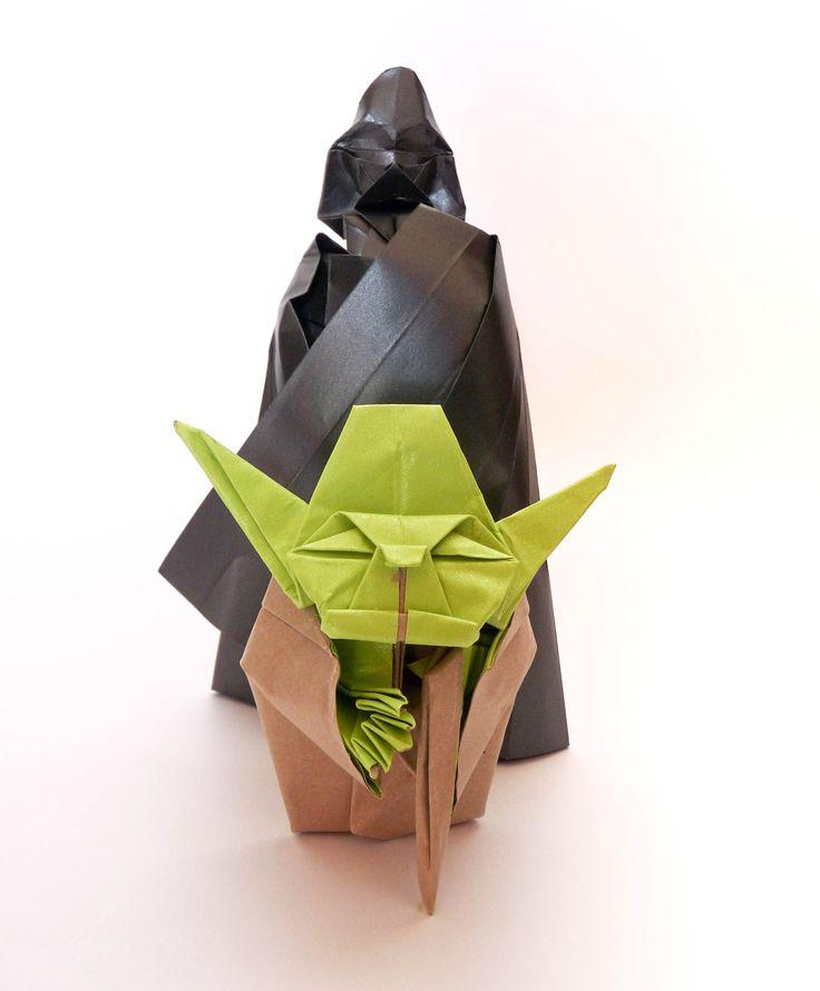 Origami Darth Vader 2.0