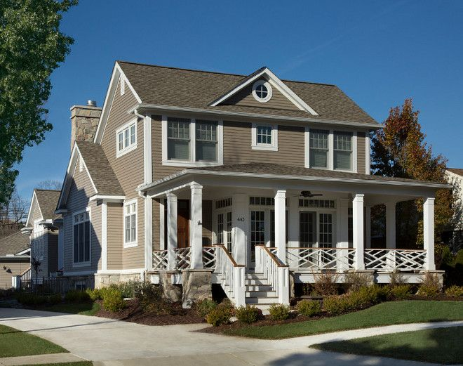 833 best home exterior paint color images on pinterest exterior paint colors house exteriors for Best beige exterior paint color