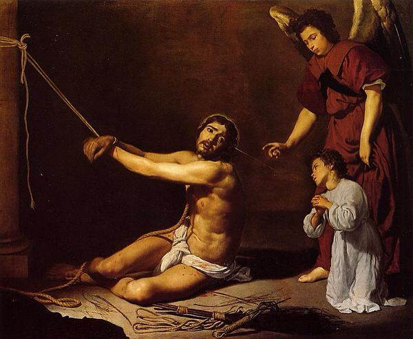 Cristo contemplado por el alma Cristiana  Diego Velázquez 1682