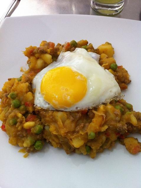 Charquicán, sin el huevo frito no es lo mismo :P