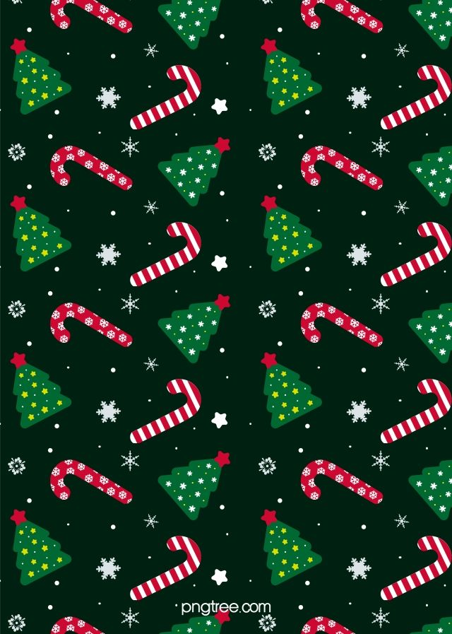 Green Christmas Small Elements Seamless Mosaic Background Christmas Wallpaper Christmas Pattern Background Christmas Phone Wallpaper