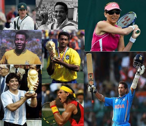 Sachin Tendulkar, Allan Border, Gary Sobers, Maradona , Pelé, Romario, Monica Seles and Rafael Nadal. The ‪#‎world‬ of ‪#‎sports‬ would never be the same without them.  What is that common ‪#‎masterstroke‬ that brings all these ‪#‎legends‬ on the same platform?